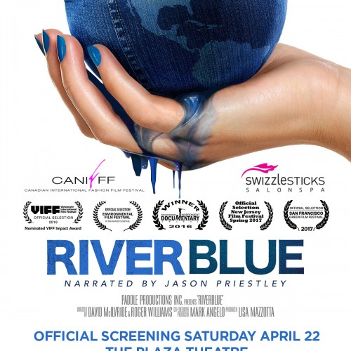 CANIFFF RiverBlue Poster